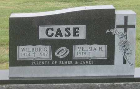 HANSEN CASE, VELMA H. - Dundy County, Nebraska | VELMA H. HANSEN CASE - Nebraska Gravestone Photos