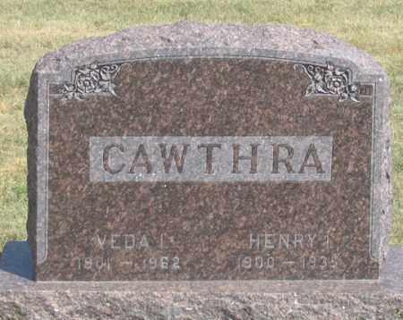 CAWTHRA, HENRY IRVIN - Dundy County, Nebraska   HENRY IRVIN CAWTHRA - Nebraska Gravestone Photos
