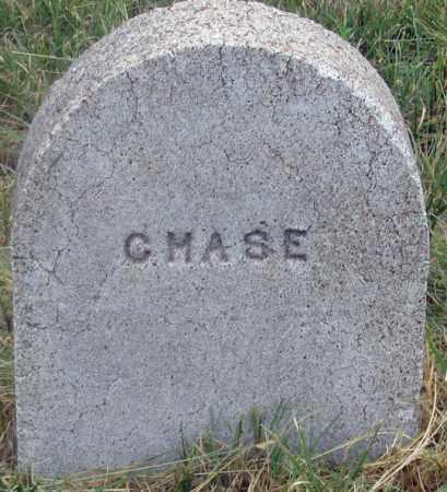 CHASE, UNKNOWN - Dundy County, Nebraska   UNKNOWN CHASE - Nebraska Gravestone Photos