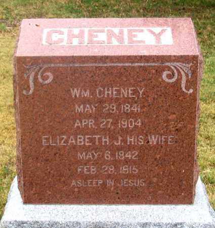 CHENEY, ELIZABETH J. - Dundy County, Nebraska | ELIZABETH J. CHENEY - Nebraska Gravestone Photos