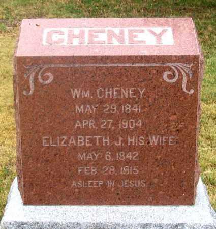 CHENEY, ELIZABETH J. - Dundy County, Nebraska | ELIZABETH J. CHENEY - Nebraska Gravestone Photos