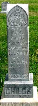 CHILDS, IRVIN J. - Dundy County, Nebraska | IRVIN J. CHILDS - Nebraska Gravestone Photos