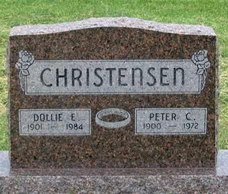 CHRISTENSEN, DOLLIE E. - Dundy County, Nebraska   DOLLIE E. CHRISTENSEN - Nebraska Gravestone Photos