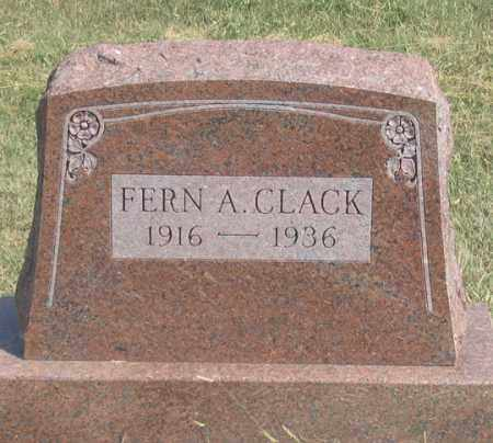 CLACK, FERN A. (MILDRED?) - Dundy County, Nebraska | FERN A. (MILDRED?) CLACK - Nebraska Gravestone Photos