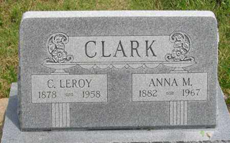 CLARK, ANNA M. - Dundy County, Nebraska   ANNA M. CLARK - Nebraska Gravestone Photos