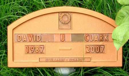 CLARK, DAVID J. - Dundy County, Nebraska | DAVID J. CLARK - Nebraska Gravestone Photos
