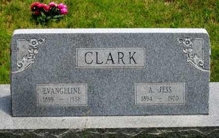 CLARK, ALBERT JESS - Dundy County, Nebraska | ALBERT JESS CLARK - Nebraska Gravestone Photos