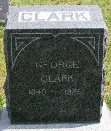 CLARK, GEORGE - Dundy County, Nebraska | GEORGE CLARK - Nebraska Gravestone Photos