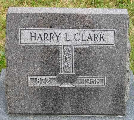 CLARK, HARRY L. - Dundy County, Nebraska | HARRY L. CLARK - Nebraska Gravestone Photos