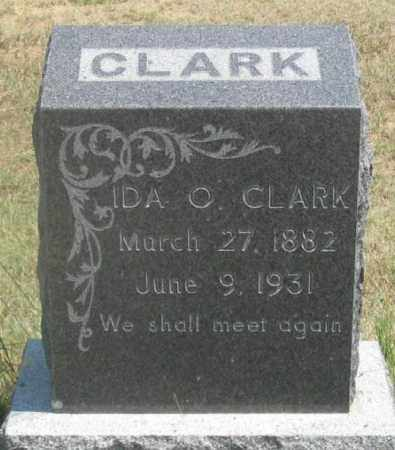 CLARK, IDA OLIVE - Dundy County, Nebraska | IDA OLIVE CLARK - Nebraska Gravestone Photos