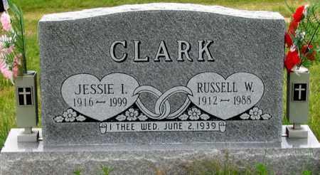 CLARK, JESSIE I. - Dundy County, Nebraska | JESSIE I. CLARK - Nebraska Gravestone Photos