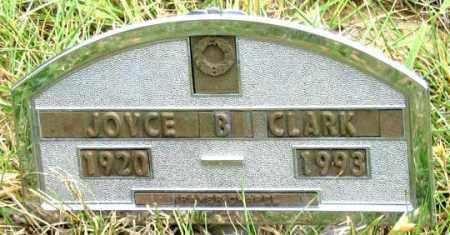CLARK, JOYCE B. - Dundy County, Nebraska   JOYCE B. CLARK - Nebraska Gravestone Photos