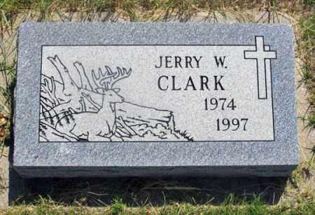 CLARK, JERRY W. - Dundy County, Nebraska | JERRY W. CLARK - Nebraska Gravestone Photos