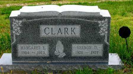 CLARK, MARGARET E. - Dundy County, Nebraska | MARGARET E. CLARK - Nebraska Gravestone Photos