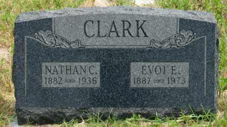 SHELL CLARK, EVOI EDITH - Dundy County, Nebraska | EVOI EDITH SHELL CLARK - Nebraska Gravestone Photos