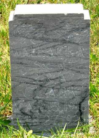 CLARK, WALLACE A. - Dundy County, Nebraska | WALLACE A. CLARK - Nebraska Gravestone Photos
