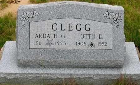 CLEGG, OTTO D. - Dundy County, Nebraska | OTTO D. CLEGG - Nebraska Gravestone Photos