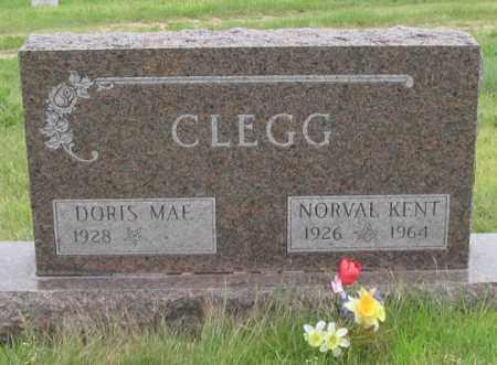 CLEGG, DORIS MAE - Dundy County, Nebraska | DORIS MAE CLEGG - Nebraska Gravestone Photos