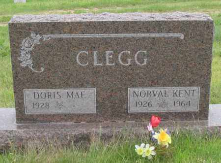 CLEGG, DORIS MAE - Dundy County, Nebraska | DORIS MAE CLEGG - Nebraska Gravestone Photos