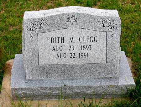 CLEGG, EDITH M. - Dundy County, Nebraska | EDITH M. CLEGG - Nebraska Gravestone Photos