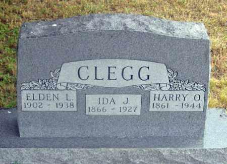 CLEGG, IDA JANE - Dundy County, Nebraska | IDA JANE CLEGG - Nebraska Gravestone Photos