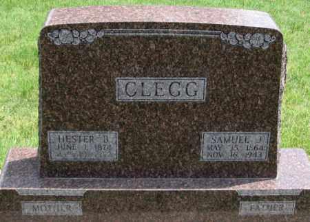 BROWN CLEGG, HESTER B. - Dundy County, Nebraska | HESTER B. BROWN CLEGG - Nebraska Gravestone Photos