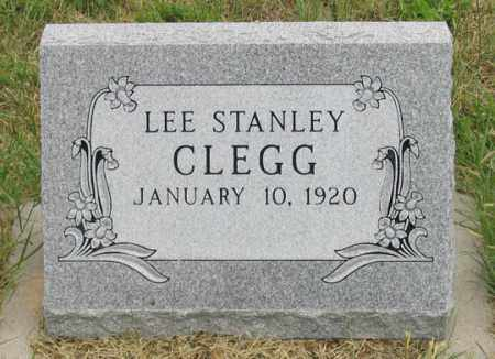 CLEGG, LEE STANLEY - Dundy County, Nebraska   LEE STANLEY CLEGG - Nebraska Gravestone Photos