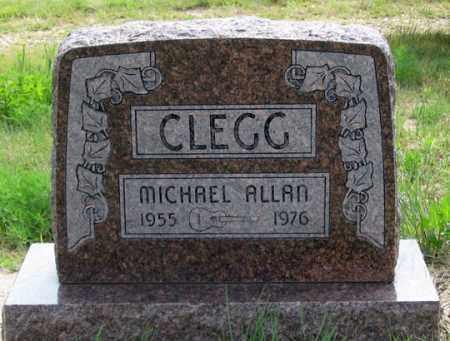 CLEGG, MICHAEL ALLAN - Dundy County, Nebraska | MICHAEL ALLAN CLEGG - Nebraska Gravestone Photos