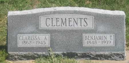 ESTES CLEMENTS, CLARISSA A. - Dundy County, Nebraska   CLARISSA A. ESTES CLEMENTS - Nebraska Gravestone Photos