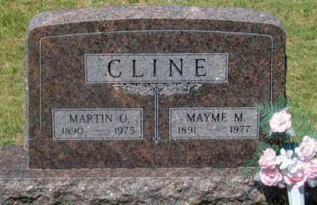 CLINE, MAYME MILDRED - Dundy County, Nebraska   MAYME MILDRED CLINE - Nebraska Gravestone Photos