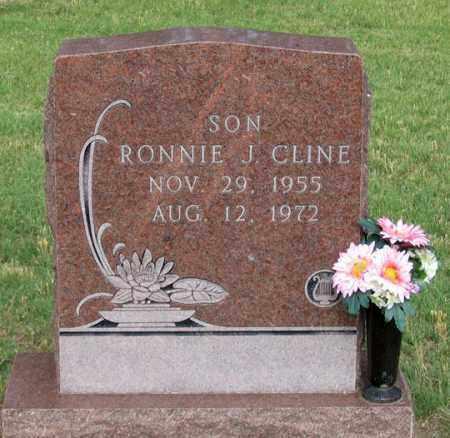 CLINE, RONNIE JOE - Dundy County, Nebraska   RONNIE JOE CLINE - Nebraska Gravestone Photos
