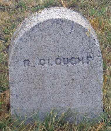 CLOUGH, R. - Dundy County, Nebraska   R. CLOUGH - Nebraska Gravestone Photos