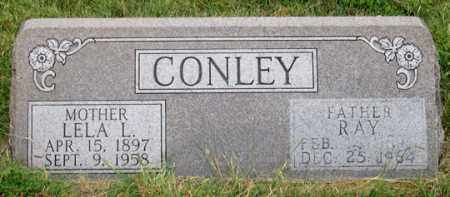 HENNIS CONLEY, LELA . - Dundy County, Nebraska | LELA . HENNIS CONLEY - Nebraska Gravestone Photos