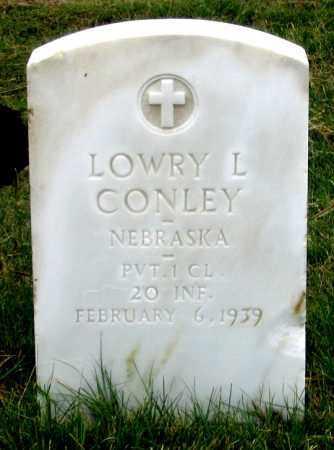 CONLEY, LOWRY L. - Dundy County, Nebraska | LOWRY L. CONLEY - Nebraska Gravestone Photos