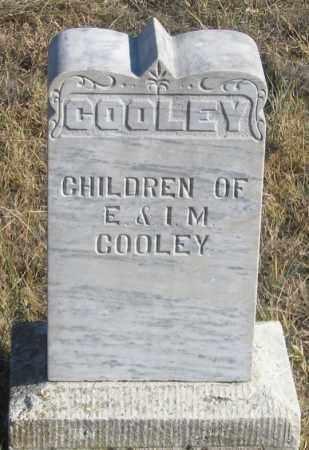 COOLEY, CHILDREN - Dundy County, Nebraska | CHILDREN COOLEY - Nebraska Gravestone Photos