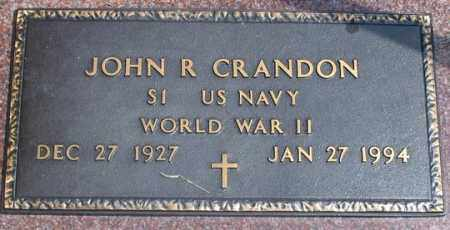 CRANDON, JOHN R. - Dundy County, Nebraska   JOHN R. CRANDON - Nebraska Gravestone Photos