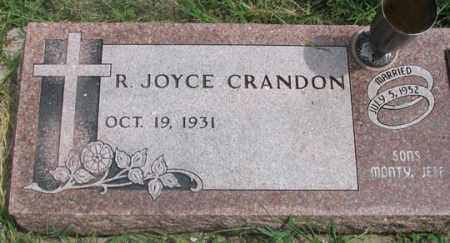 CRANDON, R. JOYCE - Dundy County, Nebraska   R. JOYCE CRANDON - Nebraska Gravestone Photos