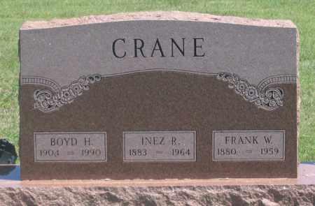 CRANE, INEZ R. - Dundy County, Nebraska   INEZ R. CRANE - Nebraska Gravestone Photos