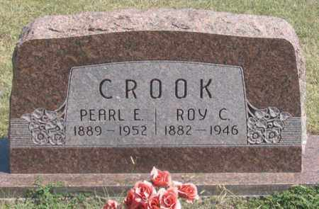 CROOK, ROY C. - Dundy County, Nebraska | ROY C. CROOK - Nebraska Gravestone Photos