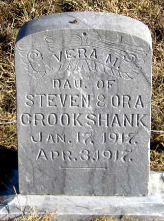 CROOKSHANK, VERA M. - Dundy County, Nebraska | VERA M. CROOKSHANK - Nebraska Gravestone Photos