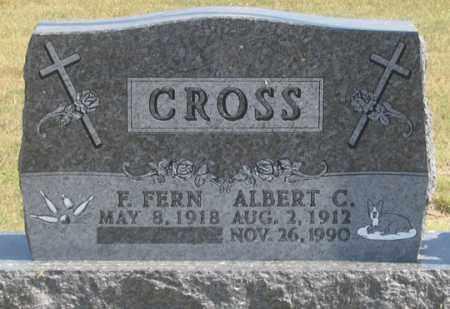 GERDES-WOOD CROSS, F. FERN - Dundy County, Nebraska | F. FERN GERDES-WOOD CROSS - Nebraska Gravestone Photos