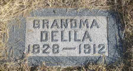 CROSSON, DELILA (DELIA?) - Dundy County, Nebraska | DELILA (DELIA?) CROSSON - Nebraska Gravestone Photos