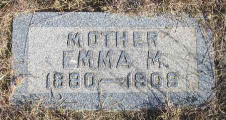 CROSSON, EMMA M. - Dundy County, Nebraska | EMMA M. CROSSON - Nebraska Gravestone Photos