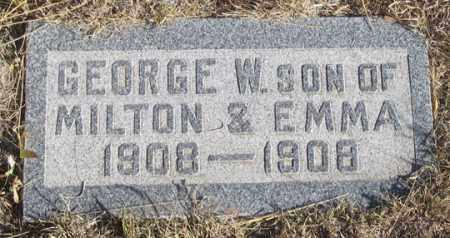 CROSSON, GEORGE W. - Dundy County, Nebraska | GEORGE W. CROSSON - Nebraska Gravestone Photos