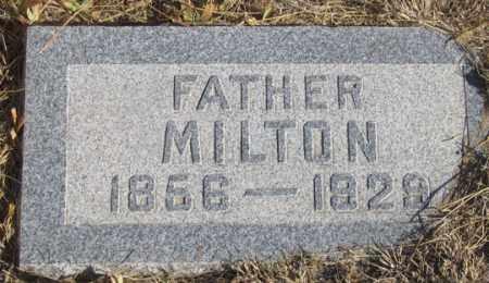 CROSSON, MILTON - Dundy County, Nebraska | MILTON CROSSON - Nebraska Gravestone Photos