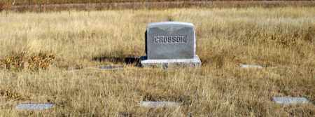 CROSSON MILTON, FAMILY GRAVE SITE - Dundy County, Nebraska | FAMILY GRAVE SITE CROSSON MILTON - Nebraska Gravestone Photos
