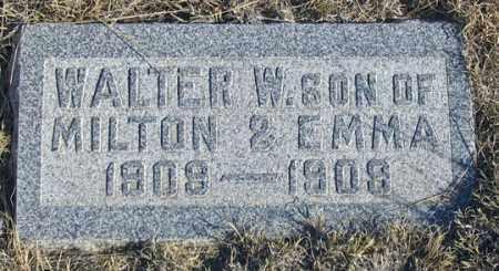CROSSON, WALTER W. - Dundy County, Nebraska | WALTER W. CROSSON - Nebraska Gravestone Photos