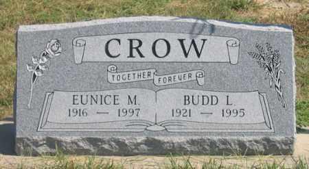 CROW, BUDD L. - Dundy County, Nebraska | BUDD L. CROW - Nebraska Gravestone Photos