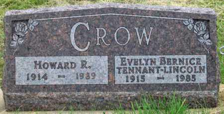TENNANT CROW, EVELYN BERNICE - Dundy County, Nebraska | EVELYN BERNICE TENNANT CROW - Nebraska Gravestone Photos