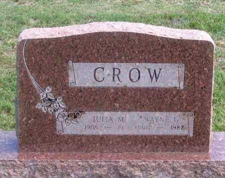 CROW, WAYNE G. - Dundy County, Nebraska | WAYNE G. CROW - Nebraska Gravestone Photos